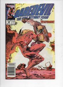 DAREDEVIL #249 VF/NM  Murdock, Wolverine, 1964 1987, more Marvel in store