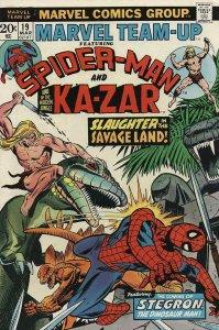 Marvel Team-Up #19 VG; Marvel | low grade comic - save on shipping - details ins