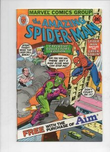 Amazing SPIDER-MAN #1, FN, Aim Toothpaste Promo, 1980, more SM in store