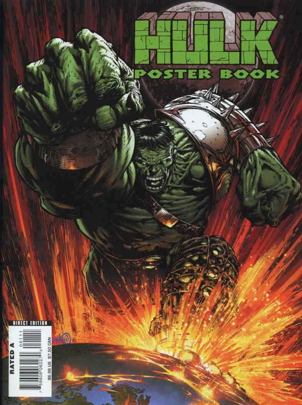Hulk Poster Book (2nd Series) #1 VF/NM; Marvel | save on shipping - details insi
