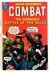 War Stories Combat # 20 VF- Dell Silver Age Comic Book Army Navy 1966 JL11