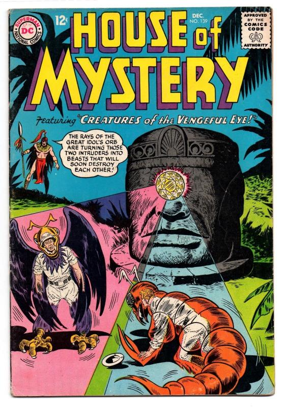House of Mystery #139 (Dec 1963, DC) - Fine-