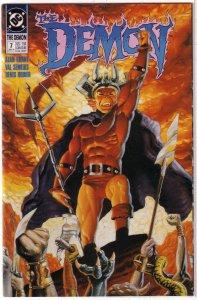 Demon (vol. 3, 1990) # 7 VF Grant/Semeiks, Rodier cover