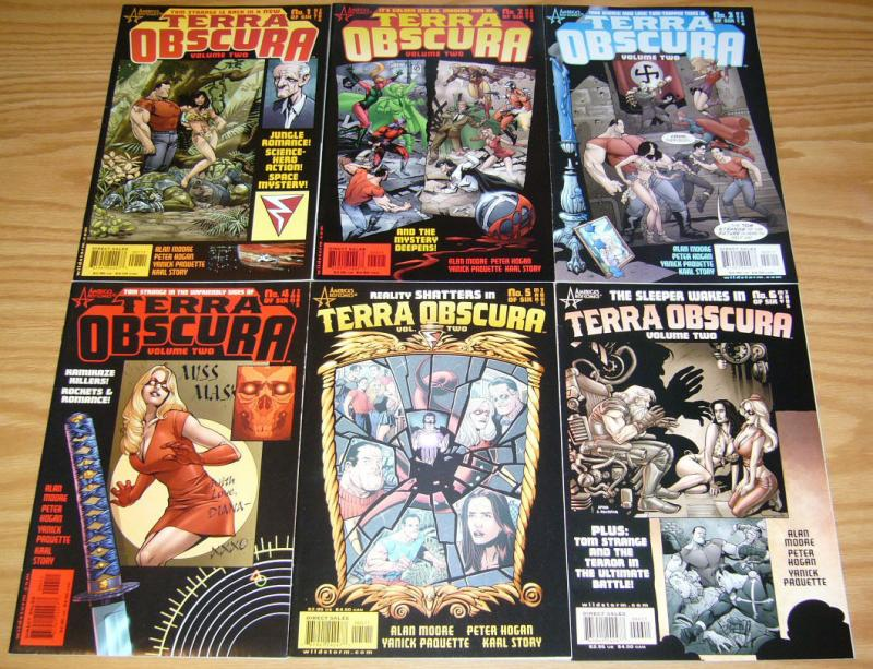 Terra Obscura vol. 2 #1-6 VF/NM complete series - alan moore -tom strong spinoff