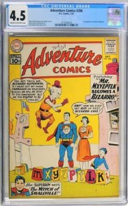Adventure Comics #286 (1961) CGC Graded 4.5