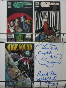 OZ SQUAD (1991 BRAVE NEW WORDS)   1-2a,3 Oz revisited