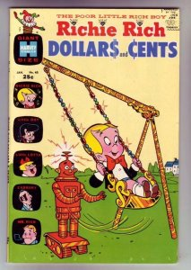 Richie Rich Dollars and Cents # 40 strict VF/NM appearance Little Dot