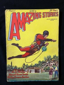 Amazing Stories Pulp August 1928- 1st BUCK ROGERS- key & rare