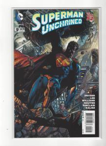 Superman Unchained #9  DC Comics New 52 JIM LEE Variant NM