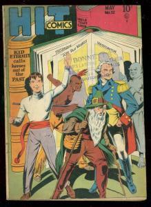 HIT COMICS #52 1948-KID ETERNITY-GEORGE WASHINGTON CVR VG+