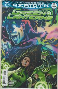 GREEN LANTERN #12 DC UNIVERSE REBIRTH