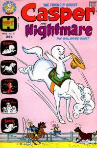 Casper and Nightmare #41 VG; Harvey   low grade comic - save on shipping - detai