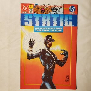 Static 1 Very Fine Cover by Hugh Fleming