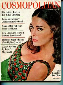 Cosmopolitan 11/1966-John D MacDonald-pulp fiction-VG