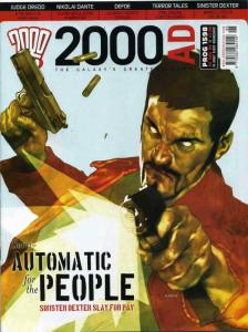 2000 A.D. #1598 VF/NM; Fleetway Quality   save on shipping - details inside