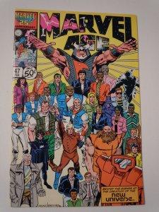 Marvel Age #47 (1987)