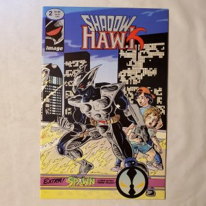 Shadowhawk 2 Very Fine Cover art by Jim Valentino