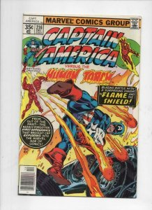 CAPTAIN AMERICA #216, VF/NM, Jack Kirby, Gil Kane 1968 1977, more CA in store