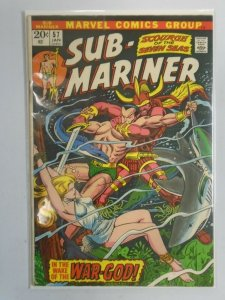 Sub-Mariner #57 4.0 VG water damaged (1973 1st Series)