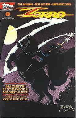 Zorro (Topps) #8 VF/NM; Topps | save on shipping - details inside