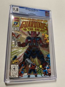 Guardians Of The Galaxy 25 Cgc 9.8 White Pages Marvel Foil Edition