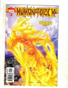 10 Marvel Comics Human Torch # 1 2 4 5 6 Deadline # 1 2 3 4 Spider-Man # 1 J327