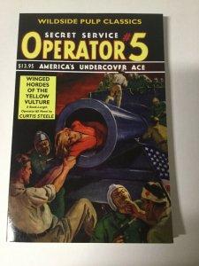Secret Service Operator 5 Winged Hordes Of Yellow Vulture Near Mint Pulp Reprint