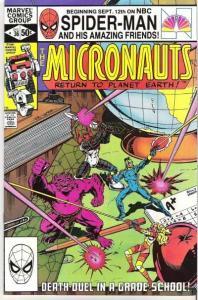 Micronauts (1979 series) #36, VF- (Stock photo)