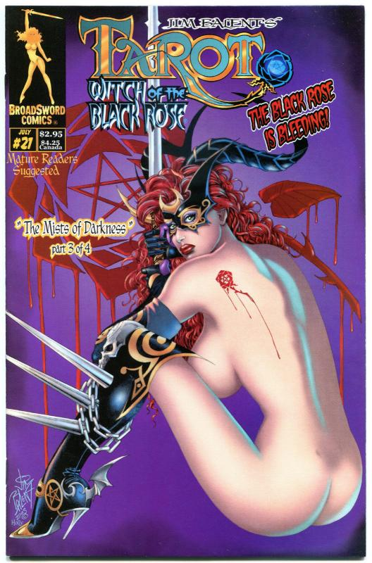 TAROT WITCH of the Black Rose #21, VF, Jim Balent, Holly Golightly,more in store