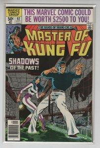 MASTER OF KUNG-FU (1974 MARVEL) #92 VF+ A67645