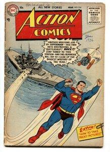 Action Comics #214 - DC Silver Age- Superman 1956 FR