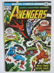 AVENGERS 111 VG May 1973 Daredevil! Black Widow! COMICS BOOK