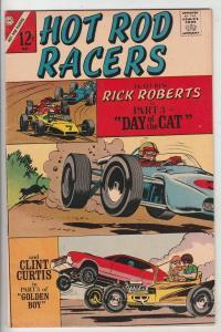 Hot Rod Racers #14 (May-67) VF/NM Mid-High-Grade Rick Roberts, Clint Curtis