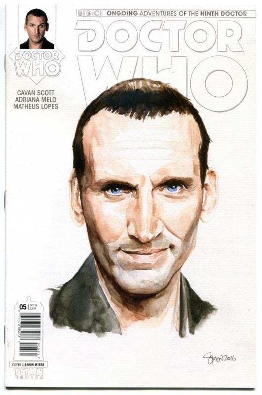 DOCTOR WHO #5 C, NM, 9th, Tardis, 2016, Titan, 1st, more DW in store, Sci-fi