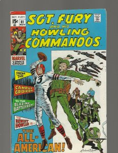 Sgt Fury & His Howling Commandos #81 The All American
