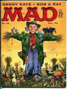 MAD #43-SCARECROW COVER-WOOD-ORLANDO-DRUCKER-1958-vf+