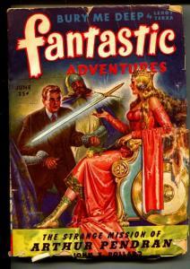Fantastic Adventures-Pulp-6/1944-Thomas Lee-John X. Pollard