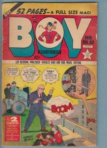 Boy Comics #62 (Feb 1951) 2.5 GD+ Lev Gleason Crimebuster