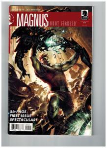Magnus Robot Fighter # 1 VF Dark Horse Comic Book Jim Shooter Bill Reinhold S75