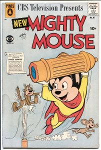 Mighty Mouse #81 1958-Pines-Heckle & Jeckle-VG-