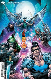 JUSTICE LEAGUE #54 CVR B HOWARD PORTER VAR (DARK NIGHTS DEATH METAL)