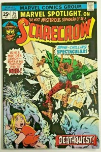 MARVEL SPOTLIGHT#26 FN/VF 1976 THE SCARECROW MARVEL BRONZE AGE COMICS