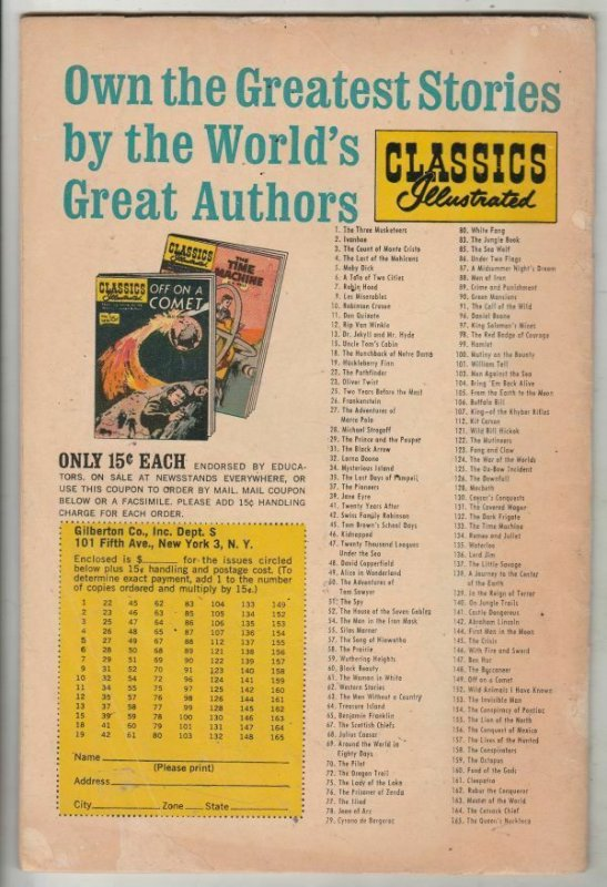 Classics Illustrated #77 (Jan-62) FN/VF Mid-High-Grade Paris and Hellen Of Troy