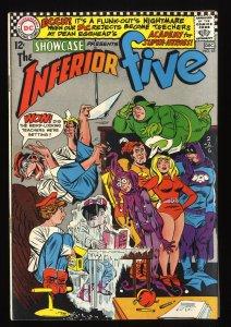 Showcase #65 FN 6.0 DC Comics 1st Inferior Five!