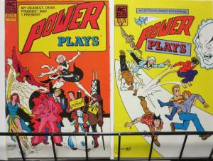 POWER PLAYS (1985 AC) 1-2 THE SET!