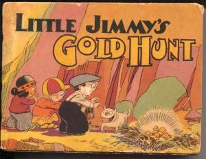 Little Jimmy's Gold Hunt #1317 1935-Saalfield-Swinnerton-comic strip-G/VG
