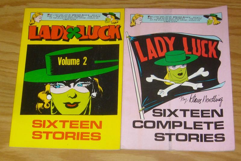 Lady Luck TPB 1-2 complete series - klaus nordling - will eisner set