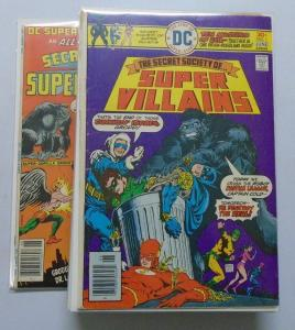 DC Super Villains Set # 1 - 15 + DC Super Stars Avg 6.0 (1976)