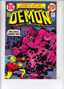 Demon, The #10 (Jul-73) NM Super-High-Grade Jason Blood, Merlin