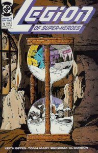 Legion of Super-Heroes (4th Series) #5 VG; DC   low grade comic - save on shippi